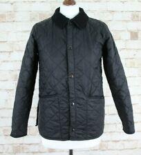 BARBOUR Childrens Liddesdale Black Quilted Jacket size L (10/11)