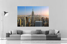 MANHATTAN CITY VILLE  Wall Art Poster Grand format A0 Large Print