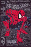 SPIDER-MAN #1 SILVER COLLECTOR'S ITEM BEND DOWN CENTER COVER OUT OF ORIGINAL BAG