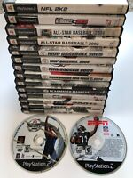 Lot of 16 Sony Playstation 2 (PS2) Games. Football, Golf, FIFA, NHL, MLB -Tested