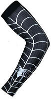 Baseball Basketball Sports Compression Dri-Fit Arm Sleeve (Spiderman) Black