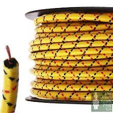 7mm Cable de Encendido Ht - Brillo Ybrf Núcleo de Alambre Algodón Trenzado