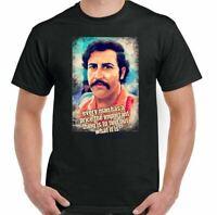 Pablo Escobar T-Shirt Mens Funny Narcos TV Show Cartel Drug Cocaine Top A Price
