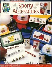 Sporty Accessories Sport Theme True Colors Cross Stitch Patterns Jerseys NEW