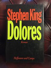 Stephen King Dolores First Edition 1983 German Hardback
