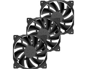 Uphere 3-Pack Long Life Computer Case Fan 120Mm Cooling PC Case !FAST SHIP!