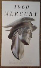 MERCURY RANGE orig 1960 USA Mkt Sales Brochure - Monterey Montclair Park Lane