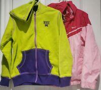 NIKE sz 6 Girl/'s REVERSIBLE Puffer Vest NEW $125  36b257 V12 Vivid Pink /& Black