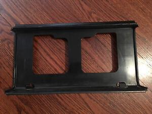 1982 Toyota Supra license plate bezel
