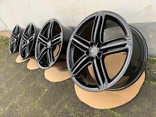 Original Audi A6 S6 4G 20 Inch Segment Alloy 8, 5Jx20 ET45 4G0601025BN Black