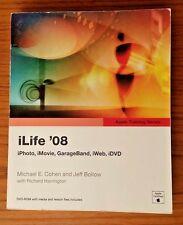 Apple Training Series: iLife  (iPhoto iMovie, GarageBand, iWeb, iDVD) DVD sealed
