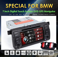 "For BMW E46 /320/325 7"" GPS Double 2Din Car Radio DVD Player Navigation Stereo"
