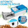 Blue Electric Automatic Cigarette Rolling Machine Tobacco Roller Smoker Maker