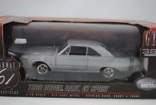 1:18 HIGHWAY 61 #50197 1968 Dodge DARD GT SPORT GTS 383 ARGENT RARE