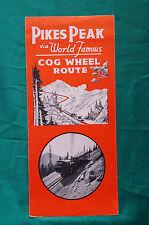 Pikes Peak Cog Wheel Route  - Steam