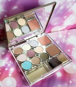 RARE Estee Lauder Pure Color Eyeshadow Blush All Day Palette Rose Marble Suede