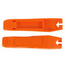 ORANGE Pair (2) Pedro's Bicycle Tire Change Levers / Easy Tube Change Tool