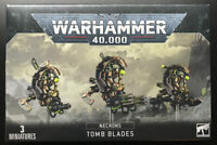 Warhammer 40k Necrons Tomb Blades - New - Scourge Studios