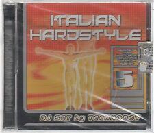 ITALIAN HARDSTYLE VOL. 5 DJ SET by TECHNOBOY  - 2 CD  F.C.SIGILLATO!!!