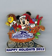 Disney Saratogs Springs Resort Minnie Mouse Hobby Horse Christmas Sleigh Le Pin