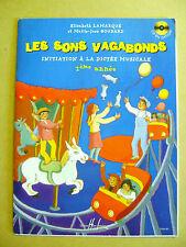 Initiation à la dictée musicale 2 ème année Les sons vagabons inclus 1 CD /R50