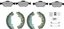 FORD FUSION FRONT BRAKE PADS & REAR SHOES WITH FITTING KIT