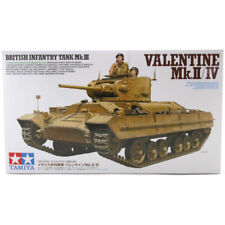 Tamiya Valentine Mk.II/IV British Tank Model Set (Scale 1:35) 35352 NEW