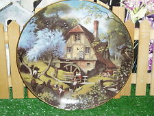 "Old Mill Decorative Plate By Robert Hersey-Plate 9"" - # B3560"