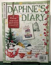 Daphne's Diary Recipe Book Happy Christmas Stickers UK #8 2018 FREE SHIPPING JB
