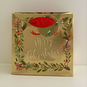 Stephanie Dyment Holly Berries Merry Christmas Small Gift Bag Gift Tag/GSSX14