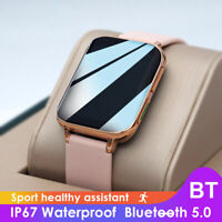 Smart Watch Sports Blood Pressure Oxygen ECG Heart Rate Monitor  For Android IOS