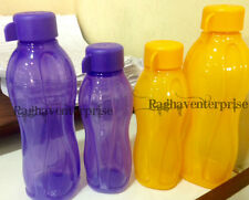 Tupperware Eco Aqua Safe Water Bottle-2 X 310 ml & 2X 500 ml Total 4 Ps Bottles