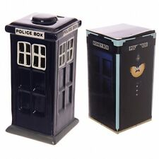Ceramic London Money Box, Police Box - Dr Who Type Money Bank, Would Make A Grea
