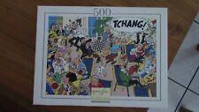 TINTIN HERGE PUZZLE NATHAN 500 PIECES 1994 GARANTI COMPLET