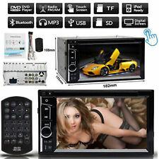"6.2 "" 2 DIN HD Touch Bluetooth Car Stereo Audio MP3 USB Player Radio DVD FM AUS"