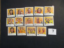 N0-2----2008  BEIJING  OLYMPIC  GOLD  MEDAL  WINNERS  --14 STAMPS --USED--F/SET