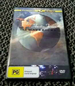 THE MAVERICKS  - LIVE IN AUSTIN TEXAS - DVD - 24 TRACKS (135 MINUTES)