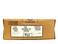 Fuze Raspberry Tea Syrup Concentrate 2.5 Gallon Bag in Box