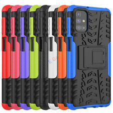 Rugged Hybrid Armor Shockproof Hard Case Kickstand Cover For Samsung Galaxy M31S