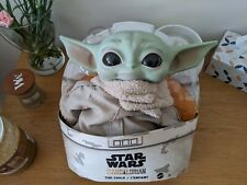 "BABY YODA Plush The Child Mandalorian Star Wars 11"" Mattel / Disney Toy"