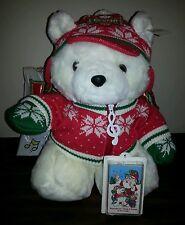 1992 Dayton Hudson Santa Bear Sing-A-Long w/Bag EUC