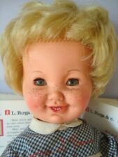 FURGA BAMBOLA PIERINO bambolotto anni 60 poupée muneca giocattolo doll toy