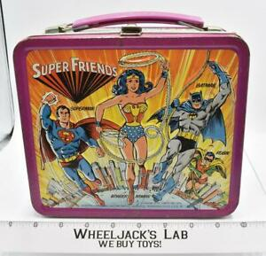 Super Friends Lunchbox DC Comics Aladdin Industries 1976 Vintage