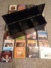 Konvolut CD's Operette, Klassik, Unterhaltung in Aufbewahrungsbox