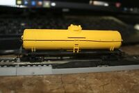 YELLOW UNMARKED TANKER   MOW? CAR ATHEARN 1/87 HO RTR  UPGRADES