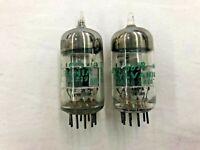 Pair of Sylvania JAN 6DJ8 / ECC88 USA Military Spec Vacuum Tube (Bag #3)