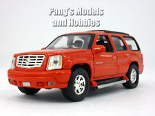 4.75 Inch Cadillac Escalade Scale Diecast Metal Car Model by Welly - RED