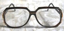 Cazal Vintage Eyeglasses  - Model 639- Col. 624 - Gold & Dark Maroon Red