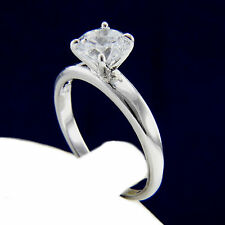 Engagement Ring Womens 2.17 CT Round Cut CZ Size 6