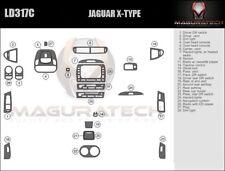 Fits Jaguar X-Type 2002-2008 Auto Trans With Navigation Wood Dash Trim Kit